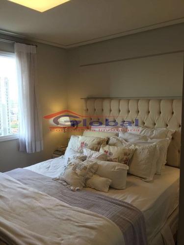 venda apartamento - b. jardim - santo andré - gl38558