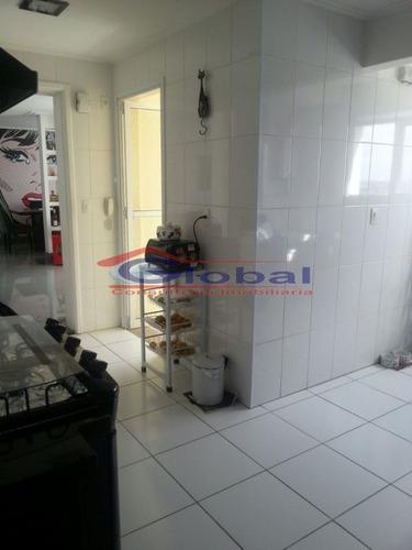 venda apartamento - b. jardim - santo andré - gl38570