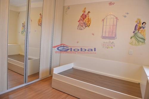 venda apartamento - campestre - santo andré - gl38124