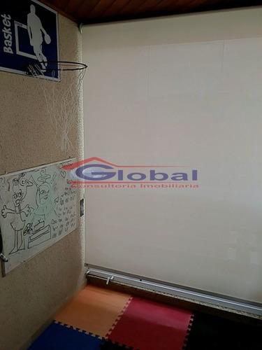 venda apartamento - casa branca - santo andré - gl38454