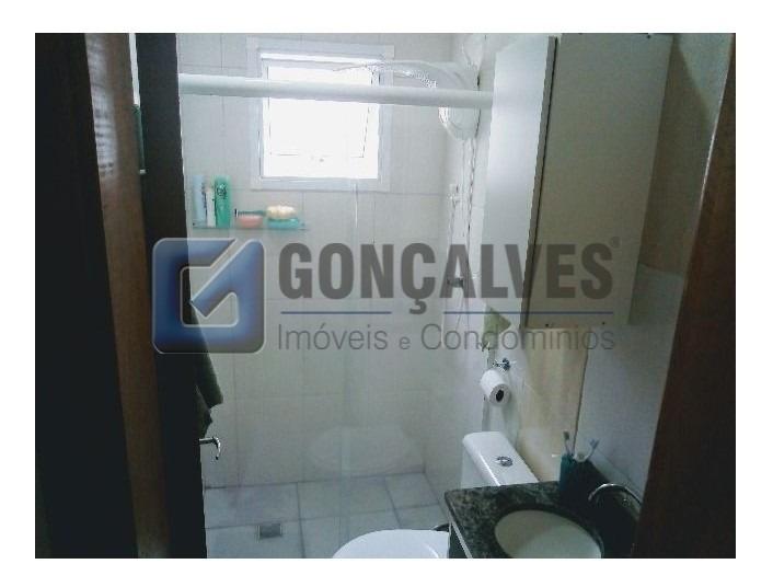 venda apartamento cobertura santo andre vila tibirica ref: 1 - 1033-1-107984