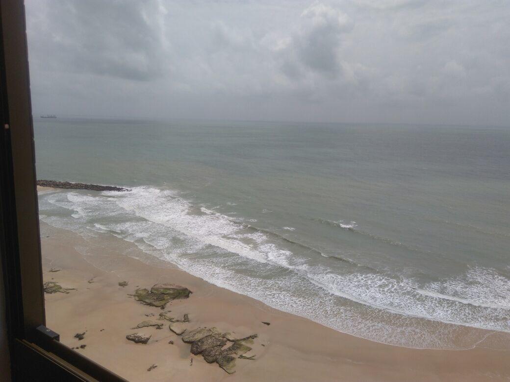 venda  apartamento com vista pro mar em areia preta