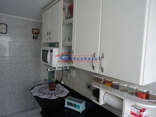 venda apartamento - demarchi - santo andré - gl38086