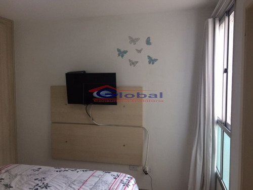 venda apartamento em santo andré - gl37537