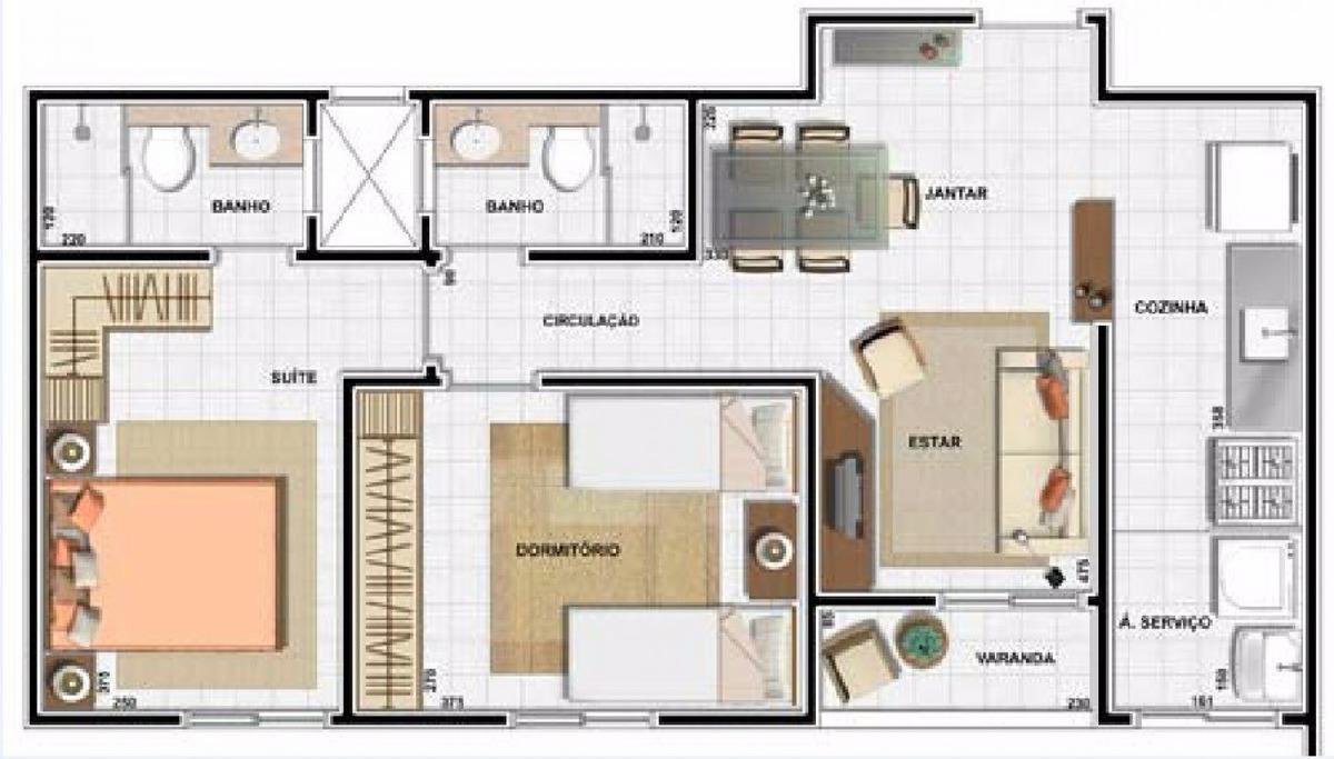 venda - apartamento - jardim bela vista - americana - sp - ev032