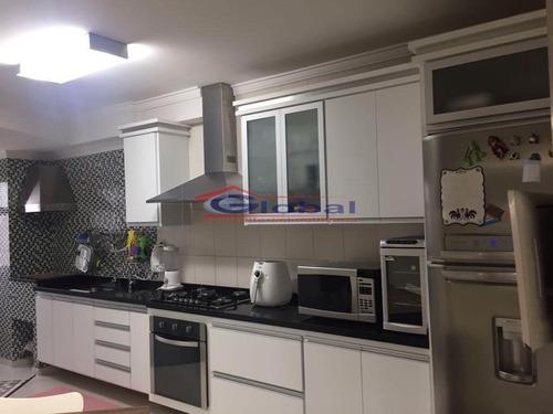 venda apartamento - jd. bela vista - santo andré - gl38356