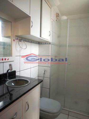 venda apartamento - jd. do estádio - santo andré - gl38974