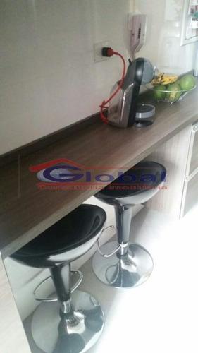 venda apartamento - jd. santo andré - gl39239
