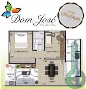 venda apartamento mauá  brasil - edi2430