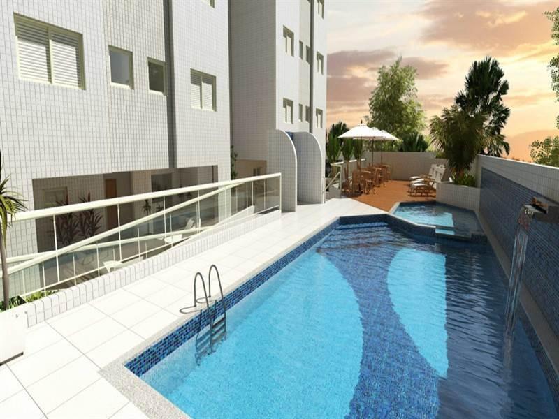 venda apartamento mongagua sp - ctm12