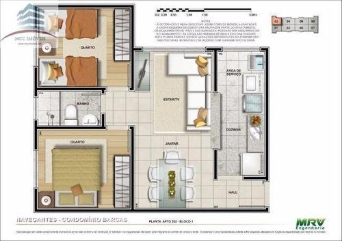 venda apartamento nova parnamirim residencial barcas