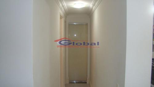 venda apartamento - pq. erasmo assunção - santo andré - gl38766