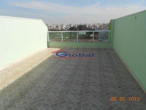 venda apartamento s/ condomínio em santo andré - gl37666
