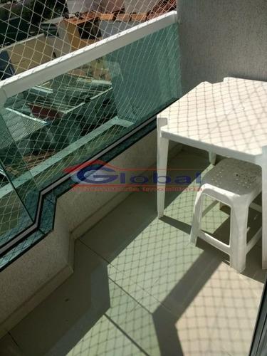 venda apartamento s/ condomínio - vila alzira - santo andré - gl37085