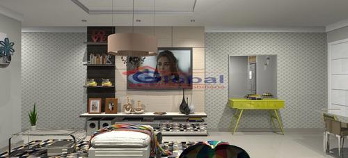 venda apartamento sem condomínio - campestre - santo andré - gl38804