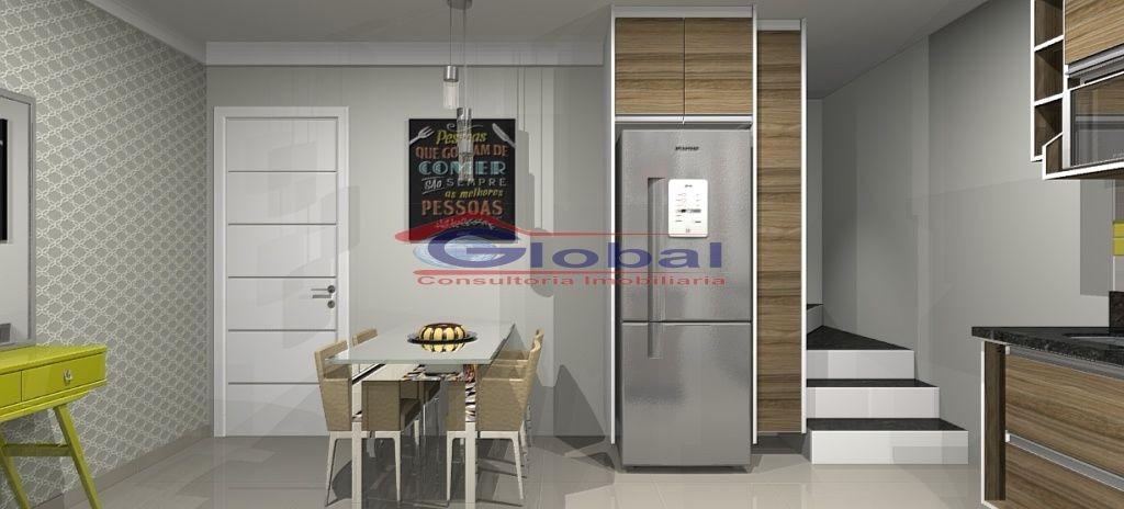 venda apartamento sem condomínio - campestre - santo andré - gl38805