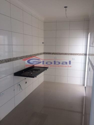 venda apartamento sem condomínio - j. progresso - santo andré - gl38549