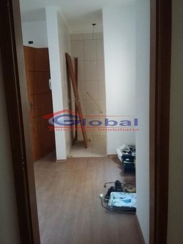 venda apartamento sem condomínio - jardim santo andré - gl36842