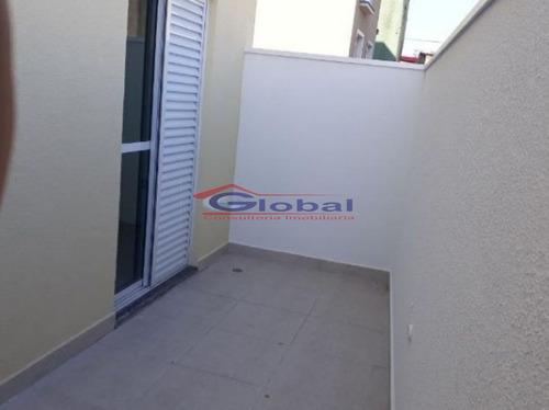 venda apartamento sem condomínio - jd. do estádio - santo andré - gl38745