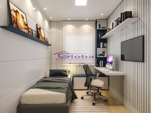venda apartamento sem condomínio - pq. das nações - santo andré - gl38425