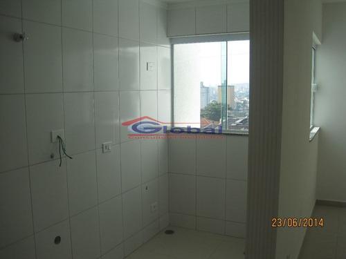 venda apartamento sem condomínio - v. alzira - santo andré - gl38875