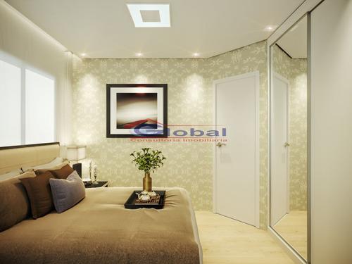 venda apartamento sem condomínio - v. príncipe de gales - santo andré - gl38707