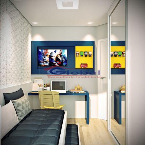 venda apartamento sem condomínio - v. príncipe de gales - santo andré - gl38716