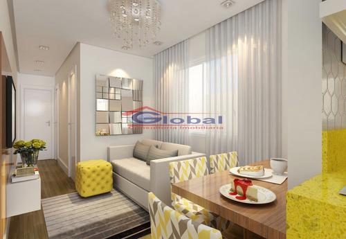 venda apartamento sem condomínio - v. tibiriçá - gl38664