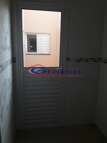 venda apartamento sem condomínio - vila pires - santo andré - gl38403