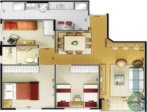 venda apartamento são caetano do sul  brasil - edi0747