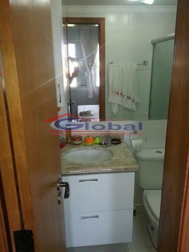 venda apartamento - v. homero thon - santo andré - gl38560