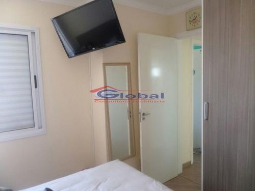 venda apartamento - v. homero thon - santo andré - gl38606