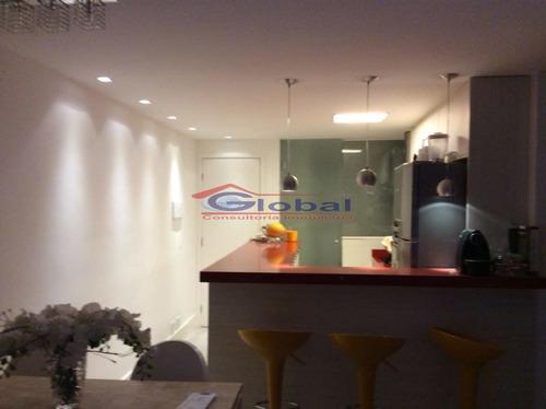 venda apartamento - v. homero thon - santo andré - gl39278