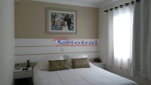 venda apartamento - v. valparaíso - santo andré - gl39123