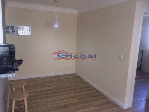 venda apartamento - vila homero thon - santo andré - gl38073