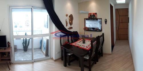 venda apartamento - vila príncipe de gales - santo andré - gl38056