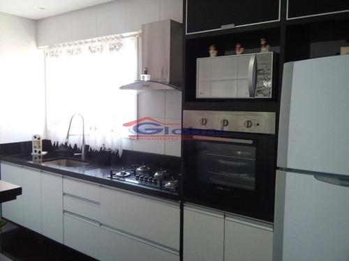venda apartamento - vila valparaíso - santo andré - gl37802