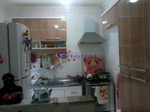 venda apto sem condominio - v. pires - santo andré - gl39091
