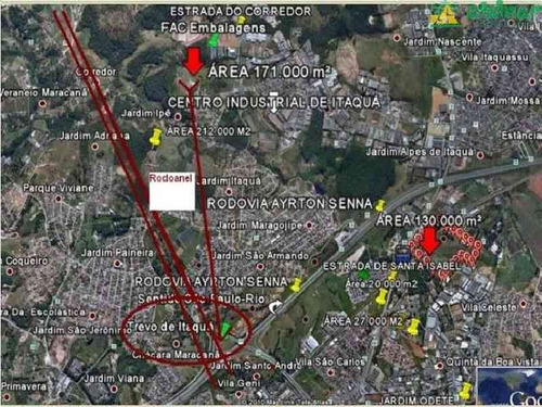 venda área comercial jardim paineira itaquaquecetuba r$ 42.750.000,00