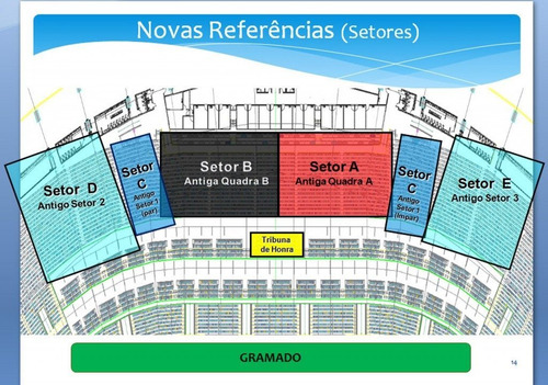 venda cadeira perpétua do estádio do maracanã