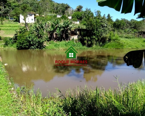 venda chácara em juquitiba com lago com peixes. ref: 0022