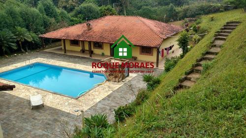 venda chácara juquitiba com piscina. ref: 0001