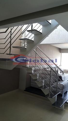 venda cobertura duplex em são bernardo do campo - gl37465
