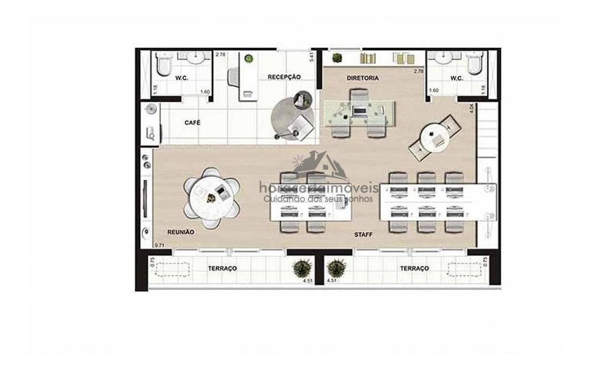 venda conjunto comercial/sala osasco centro - 336