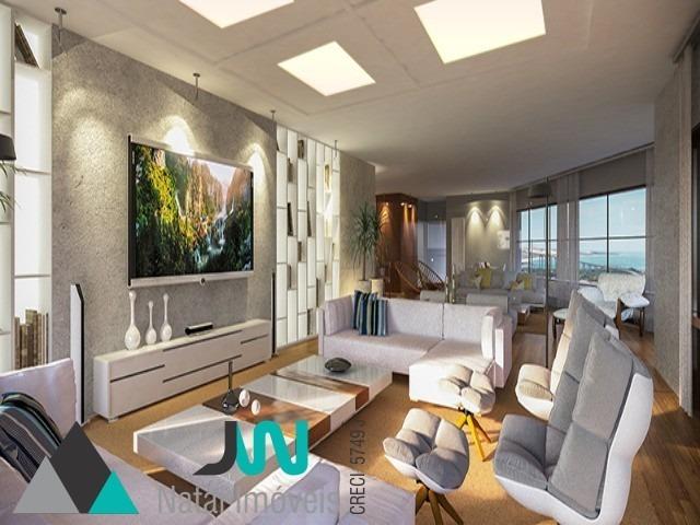 venda de apartamento em petrópolis, bairro nobre de natal/rn - solar joão e marilda - ap00022 - 2527912