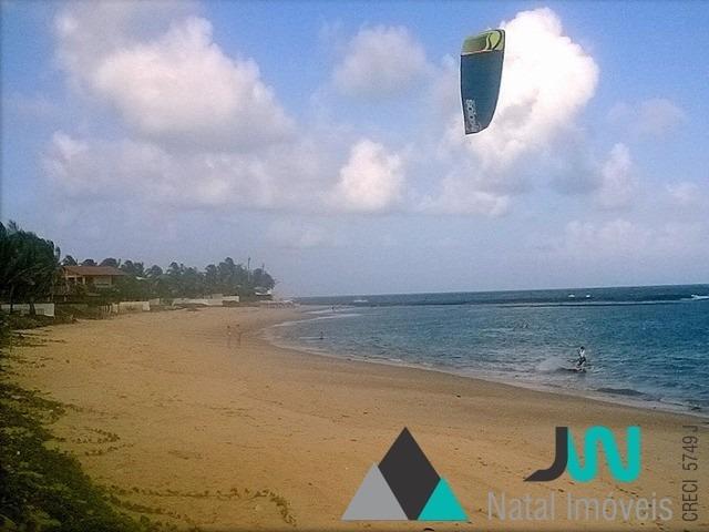 venda de casa na beira mar da praia de tabatinga, com 3 quartos, em condomínio fechado - ca00060 - 3044712