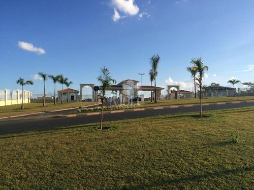 venda de excelente terreno  localizado em condomínio de alto padrão no residencial portal do lago em sumaré sp - te00032 - 34077372