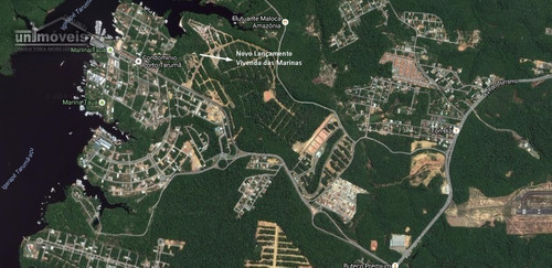 venda de lotes, vivendas das marinas, lotes a partir de 250 m², ponta negra, manaus /am. - te00081 - 4230929