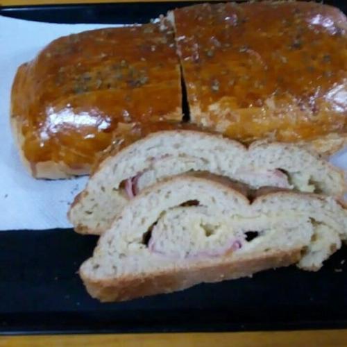 venda de pães recheados