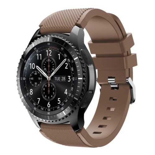 venda de reloj de pulsera de silicona de... (brown)